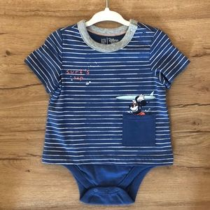 Gap Disney little boys onesie shirt